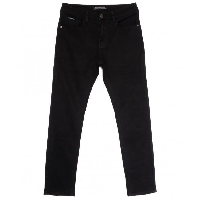 09777 (09-777) Reigouse джинсы мужские полубатальные черные осенние стрейчевые (32-42, 8 ед.) REIGOUSE: артикул 1112956