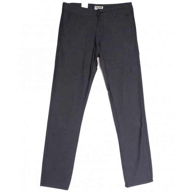 0867 Plus Press брюки мужские серые осенние коттоновые (29-36, 8 ед.) Plus Press: артикул 1112803