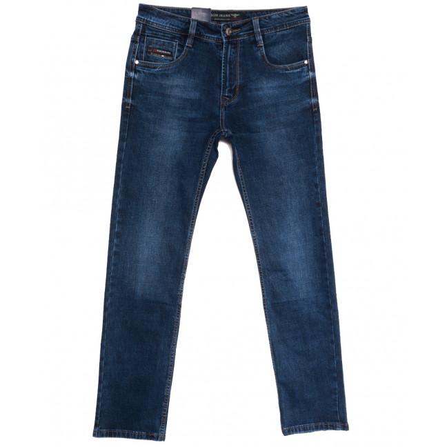9482 Baron джинсы мужские полубатальные синие осенние стрейчевые (32-40, 8 ед.) Baron: артикул 1112519