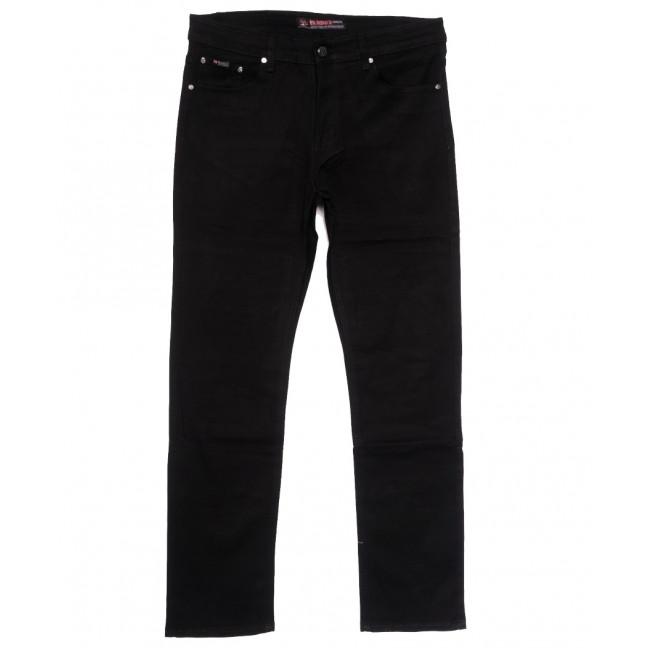 66039 Pr.Minos джинсы мужские полубатальные черные осенние стрейчевые (32-38, 8 ед.) Pr.Minos: артикул 1112471
