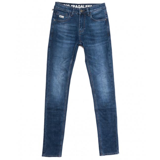 6097 Pagalee джинсы мужские молодежные синие осенние стрейчевые (28-36, 8 ед.) Pagalee: артикул 1112651