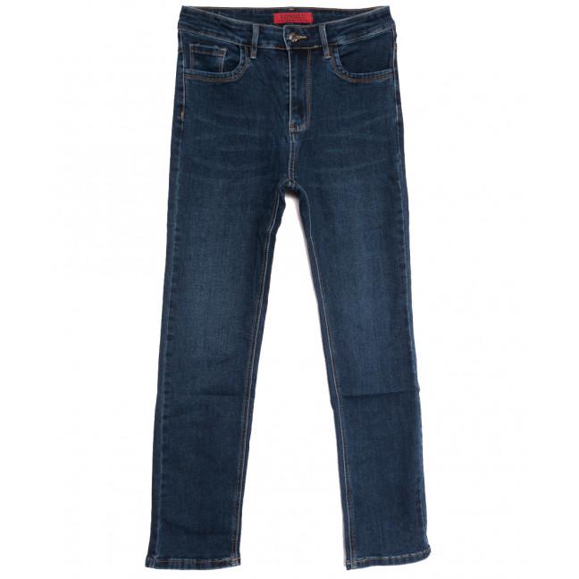 6025-1 Longlu джинсы женские батальные синие осенние стрейчевые (31-38, 6 ед.) Longlu: артикул 1112675