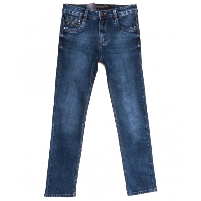 9481 Baron джинсы мужские полубатальные синие осенние стрейчевые (32-40, 8 ед.) Baron: артикул 1112553