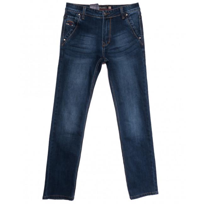 9499 Baron джинсы мужские синие осенние стрейчевые (29-38, 8 ед.) Baron: артикул 1112527
