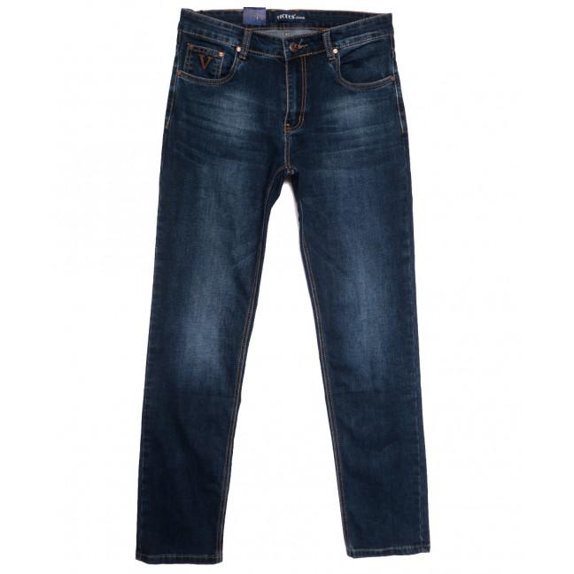 0513-1 Vicucs джинсы мужские полубатальные синие осенние стрейчевые (32-42, 7 ед.) Vicucs: артикул 1112706