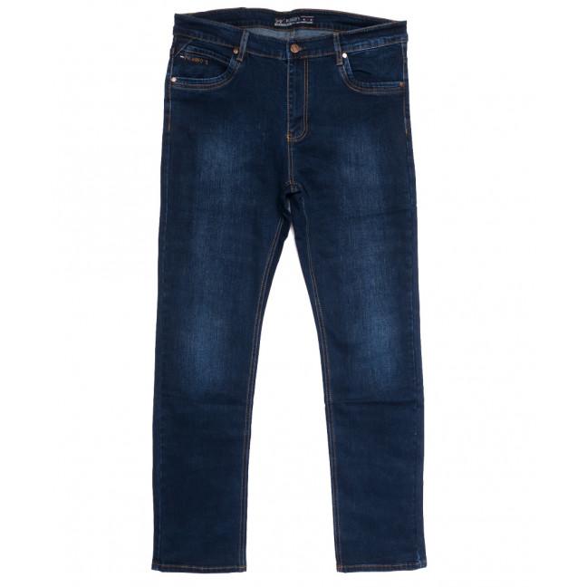 66032 Pr.Minos джинсы мужские полубатальные синие осенние стрейчевые (32-42, 8 ед.) Pr.Minos: артикул 1112465