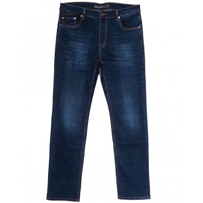 66033 Pr.Minos джинсы мужские полубатальные синие осенние стрейчевые (32-42, 8 ед.) Pr.Minos: артикул 1112462