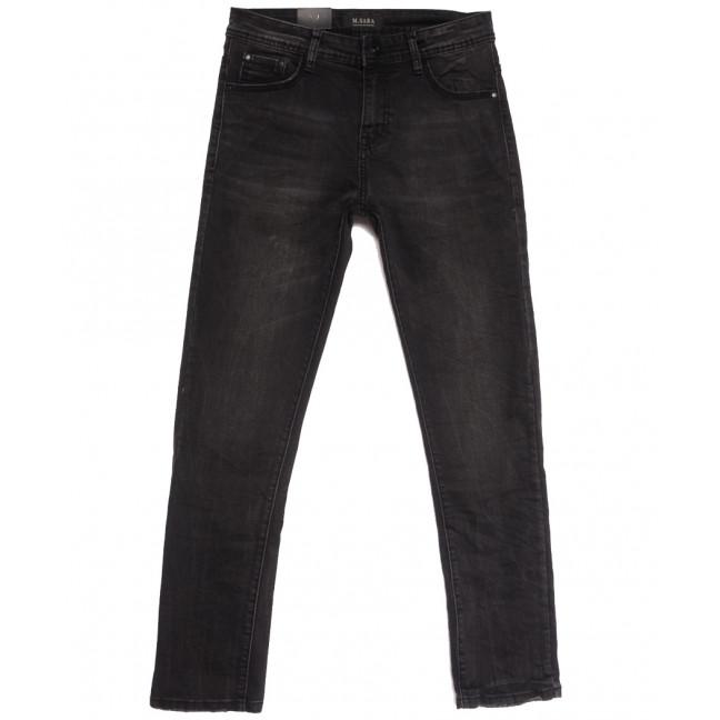 0963 M.Sara джинсы мужские серые осенние стрейчевые (30-38, 6 ед.) M.Sara: артикул 1112599