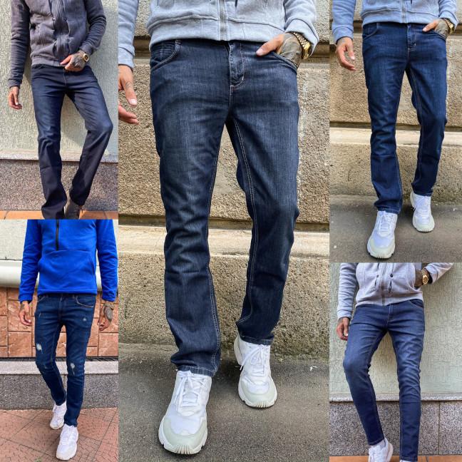 4000-16 микс моделей Big&Grays джинсы мужские синие осенние стрейчевые (30,30,38,38, 4 ед.) Big&Grays: артикул 1114341