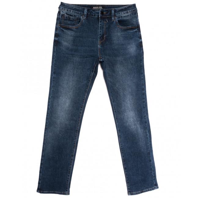 03777 (03-777) Reigouse джинсы мужские полубатальные синие осенние стрейчевые (32-38, 8 ед.) REIGOUSE: артикул 1112953