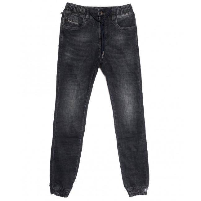 9206 Dsqatard джинсы мужские молодежные на резинке серые осенние стрейчевые (28-36, 8 ед) Dsqatard: артикул 1112647