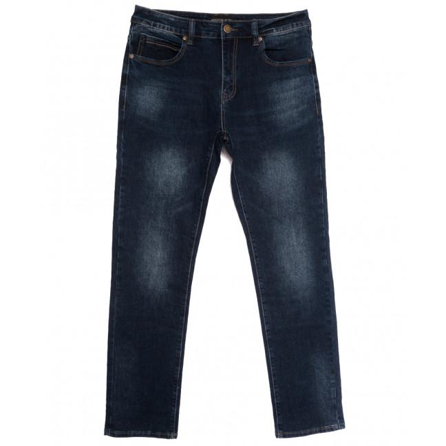 07777 (07-777) Reigouse джинсы мужские полубатальные синие осенние стрейчевые (32-42, 8 ед.) REIGOUSE: артикул 1112955