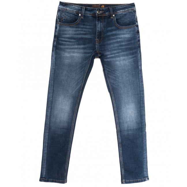 0025-1 (025А1) JE джинсы мужские синие осенние стрейчевые (30-38, 8 ед.) JE: артикул 1112862