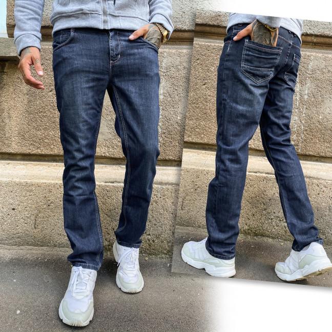2025-1 Big&Grays джинсы мужские синие осенние стрейчевые (31,32,32,34,34,36, 6 ед.) Big&Grays: артикул 1114263