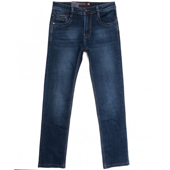 9490 Baron джинсы мужские полубатальные синие осенние стрейчевые (32-38, 8 ед.) Baron: артикул 1112548