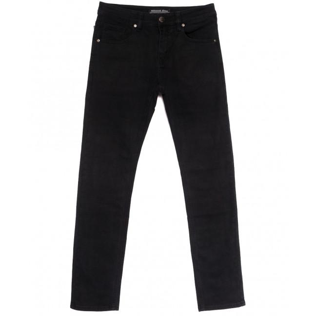 01077 (010-77) Reigouse джинсы мужские черные осенние стрейчевые (30-38, 8 ед.) REIGOUSE: артикул 1112958