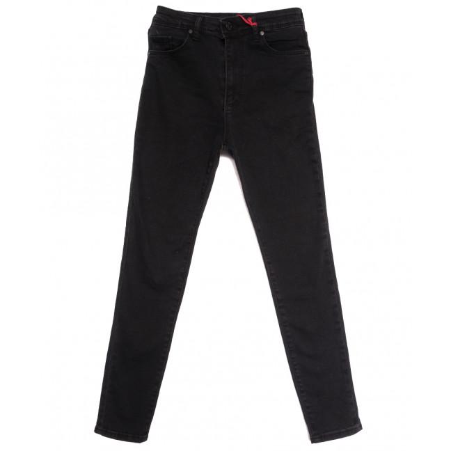 0065 777Plus джинсы женские серые осенние стрейчевые (34-42,евро, 8 ед.) 777Plus: артикул 1112943