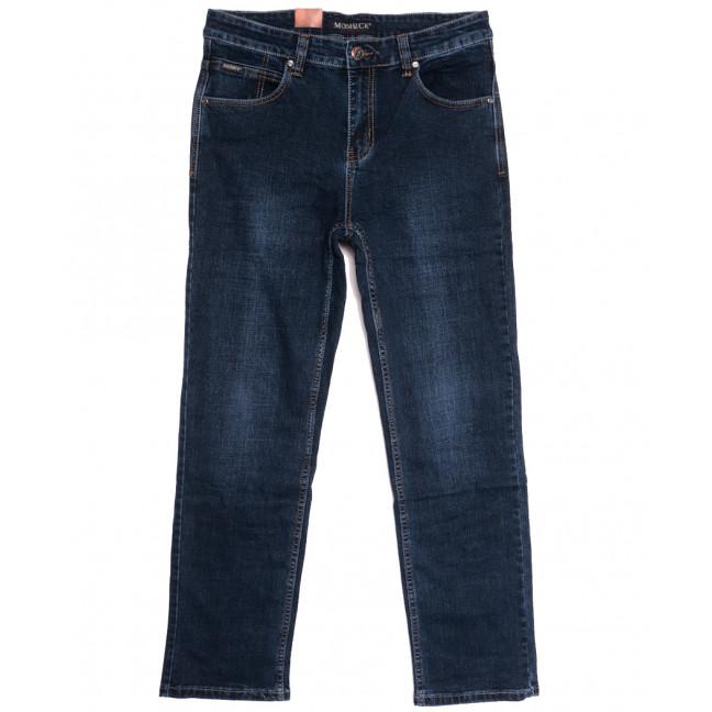91018 Moshrck джинсы мужские полубатальные синие осенние стрейчевые (32-42, 8 ед.) Moshrck: артикул 1112620