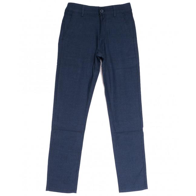 0604 Plus Press брюки на мальчика синие осенние коттоновые (24-30, 8 ед.) Plus Press: артикул 1112820