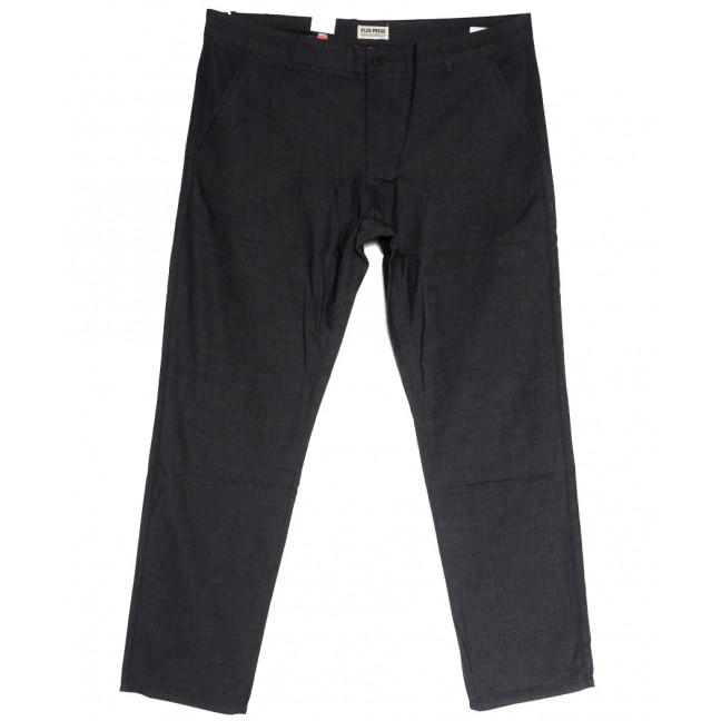 0870 Plus Press брюки мужские серые осенние коттоновые (30-38, 8 ед.) Plus Press: артикул 1112808