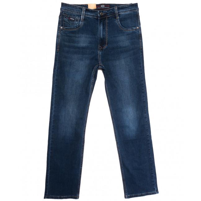 9398 Baron джинсы мужские полубатальные синие осенние стрейчевые (34-44, 8 ед.) Baron: артикул 1112549
