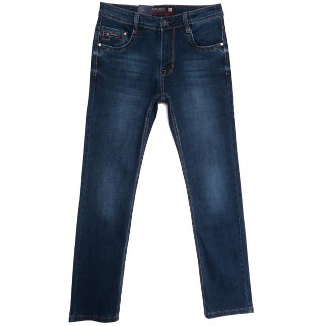 9486 Baron джинсы мужские полубатальные синие осенние стрейчевые (32-40, 8 ед.) Baron: артикул 1112522