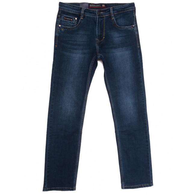9469 Baron джинсы мужские полубатальные синие осенние стрейчевые (32-40, 8 ед.) Baron: артикул 1112554