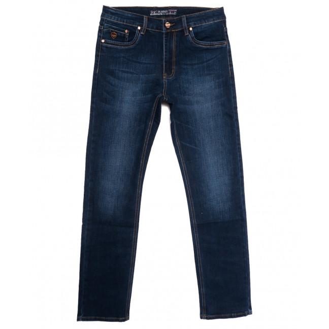 66023 Pr.Minos джинсы мужские полубатальные синие осенние стрейчевые (33-44, 8 ед.) Pr.Minos: артикул 1112838