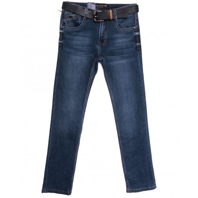 9522 Baron джинсы мужские полубатальные синие осенние стрейчевые (32-40, 8 ед.) Baron: артикул 1112532