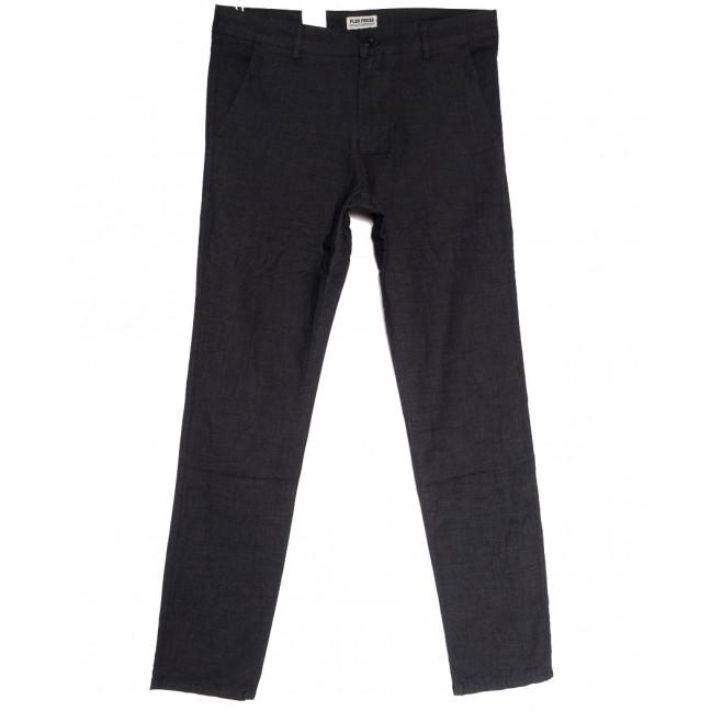 0856 Plus Press брюки мужские серые осенние коттоновые (29-36, 8 ед.) Plus Press: артикул 1112812