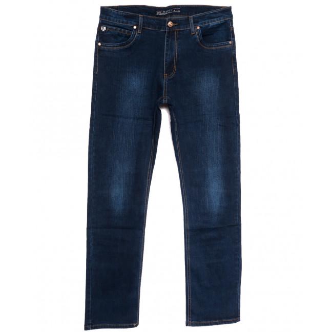 66022 Pr.Minos джинсы мужские полубатальные синие осенние стрейчевые (32-42, 8 ед.) Pr.Minos: артикул 1112467