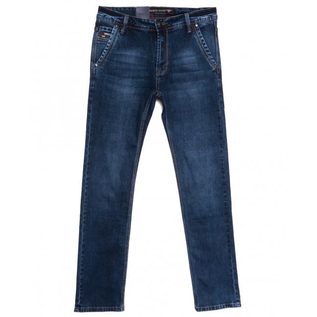 9478 Baron джинсы мужские полубатальные синие осенние стрейчевые (33-38, 8 ед.) Baron: артикул 1112542