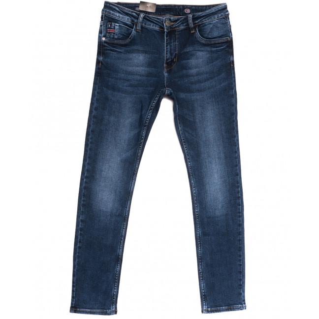 20050-6 Viman джинсы мужские синие осенние стрейчевые (30-40, 6 ед.) Viman: артикул 1112568