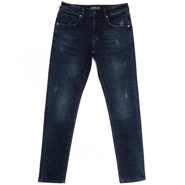 00777 (00-777) Reigouse джинсы мужские с царапками синие осенние стрейчевые (29-38, 8 ед.) REIGOUSE: артикул 1112949