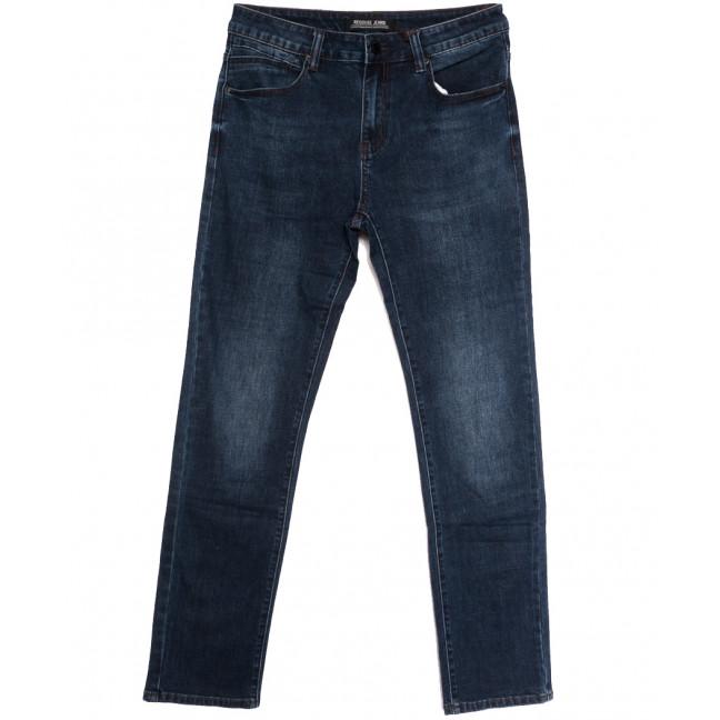 06777 (06-777) Reigouse джинсы мужские полубатальные синие осенние стрейчевые (32-40, 8 ед.) REIGOUSE: артикул 1112950