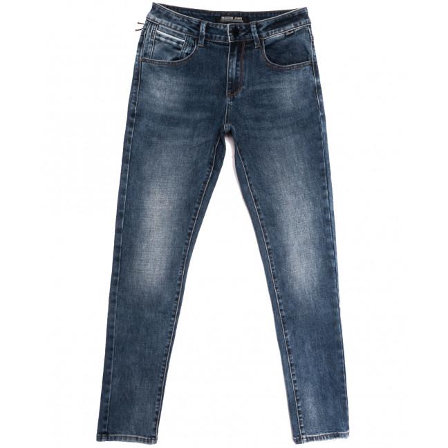 01777 (01-777) Reigouse джинсы мужские синие осенние стрейчевые (29-38, 8 ед.) REIGOUSE: артикул 1112952