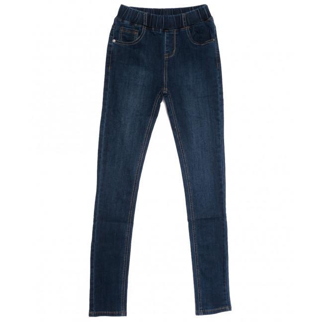 0115 (L115) Lelena джинсы женские на резинке синие осенние стрейчевые (25-30, 6 ед.) Lelena: артикул 1113109