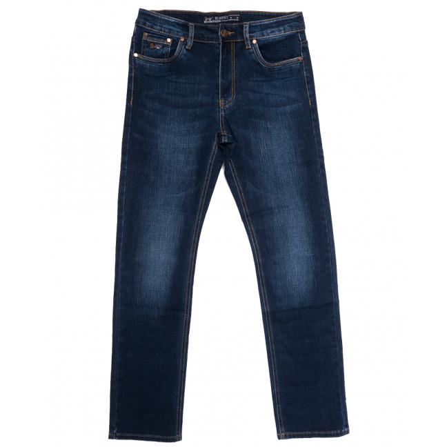 66021 Pr.Minos джинсы мужские полубатальные синие осенние стрейчевые (32-42, 8 ед.) Pr.Minos: артикул 1112837