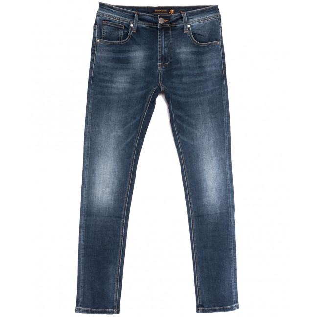 0003-1 (003А1) JE джинсы мужские синие осенние стрейчевые (31-38, 8 ед.) JE: артикул 1112861