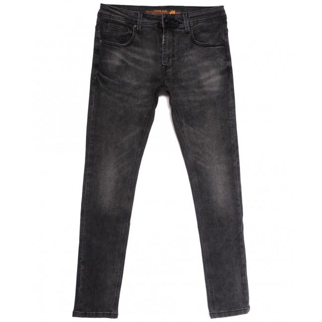 0004-1 (004А1) JE джинсы мужские серые осенние стрейчевые (29-38, 8 ед.) JE: артикул 1112863