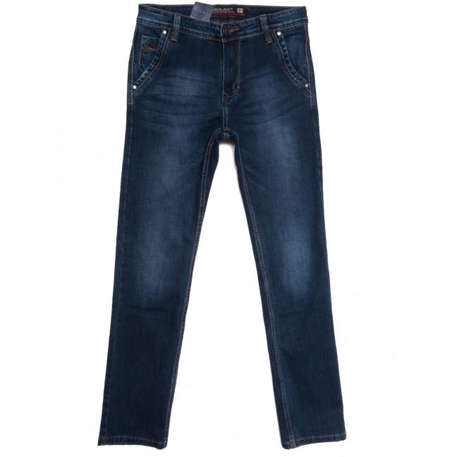 9498 Baron джинсы мужские полубатальные синие осенние стрейчевые (32-38, 8 ед.) Baron: артикул 1112529