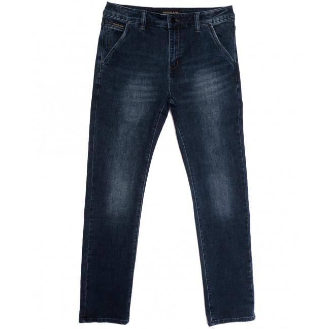 04777 (04-777) Reigouse джинсы мужские полубатальные синие осенние стрейчевые (32-38, 8 ед.) REIGOUSE: артикул 1112954