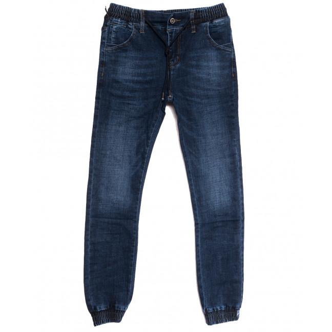 9211 Dsqatard джинсы мужские молодежные на резинке синие осенние стрейчевые (28-36, 8 ед) Dsqatard: артикул 1112645