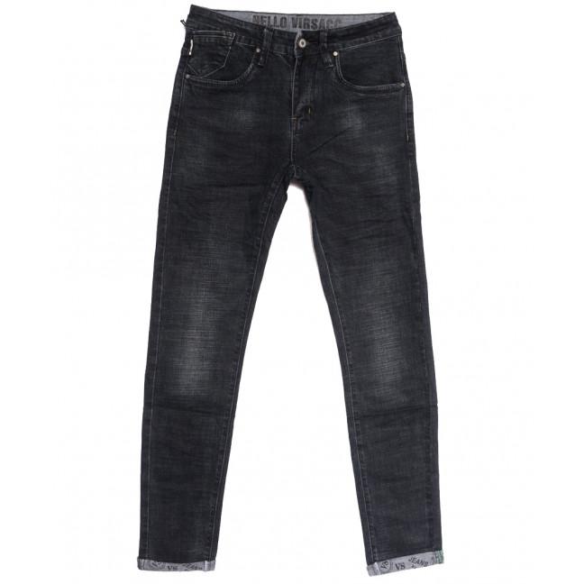 0903 Virsacc джинсы мужские молодежные серые осенние стрейчевые (28-34, 8 ед.) Virsacc: артикул 1112633
