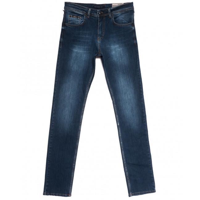 0336 Redmoon джинсы мужские синие осенние стрейчевые (30-36, 6 ед, 38-й рост) REDMOON: артикул 1112348