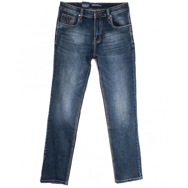 0513-3 Vicucs джинсы мужские полубатальные синие осенние стрейчевые (32-42, 7 ед.) Vicucs: артикул 1112719