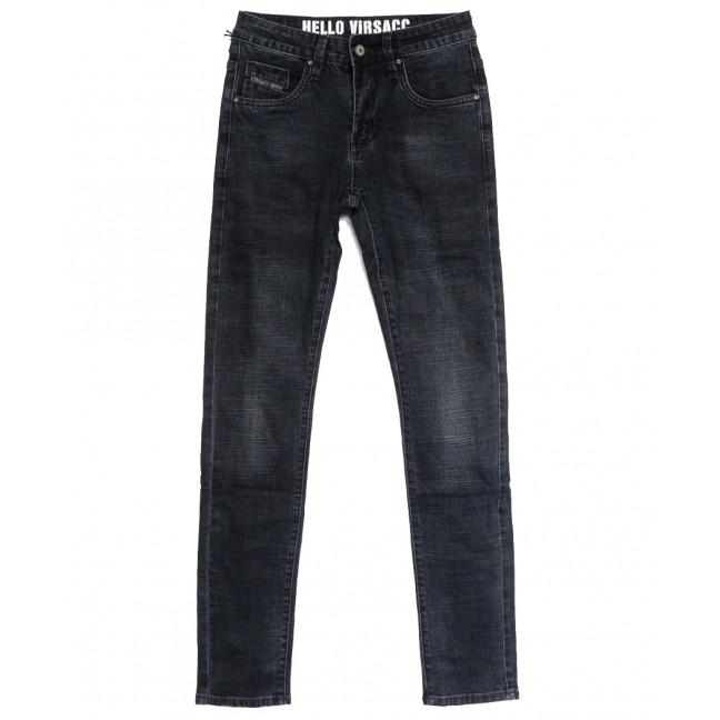 0901 Virsacc джинсы мужские молодежные серые осенние стрейчевые (28-36, 8 ед.) Virsacc: артикул 1112642