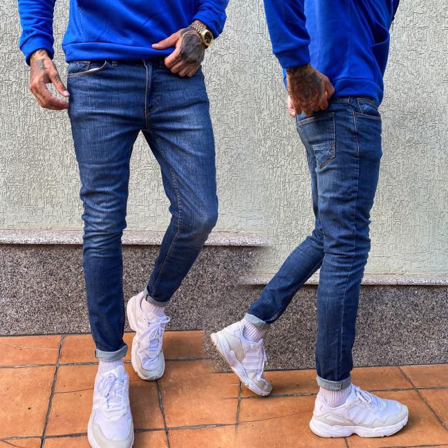 4045-1 Big&Grays джинсы мужские синие осенние стрейчевые (30,32,36,38, 4 ед.) Big&Grays: артикул 1114260