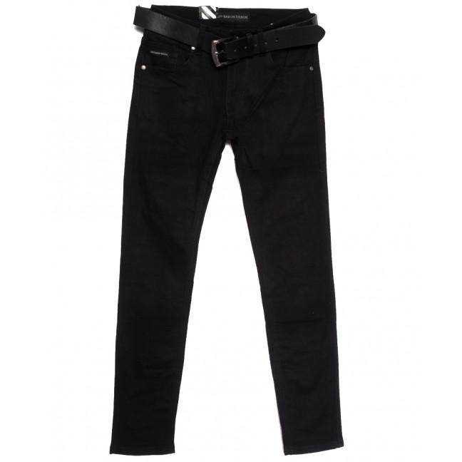 0020-09 (GD20C09-Х3) God Baron джинсы мужские молодежные черные осенние стрейчевые (28-36, 8 ед.) God Baron: артикул 1112689
