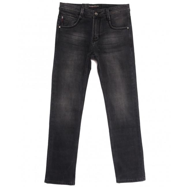 9528 Baron джинсы мужские полубатальные серые осенние стрейчевые (32-38, 8 ед.) Baron: артикул 1112557
